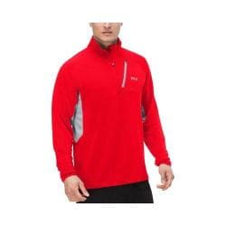 Men's Fila Skyline Half Zip Shirt Formula One/Highrise