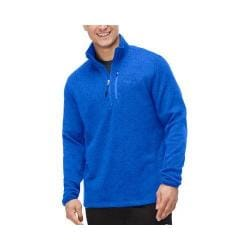 Men's Fila Sweather Half Zip Pullover Surf the Web Heather/Surf the Web Heather