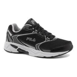 Women's Fila Xtent 2 Running Shoe Black/Dark Silver/White