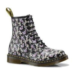 Women's Dr. Martens 1460 8-Eye Boot Black Mini Tydee