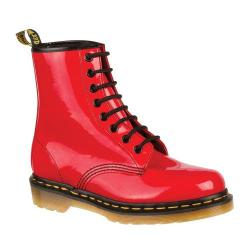 Women's Dr. Martens 1460 8-Eye Boot Patent Red Patent Lamper