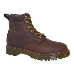 Dr. Martens Saxon 939 6-Eye Padded Collar Boot Aztec Rugged Crazy Horse Leather
