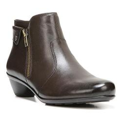 Women's Naturalizer Haley Ankle Boot Oxford Brown ET Sheep Premium Leather