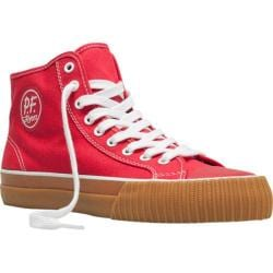 PF Flyers Center Hi Red/Gum Canvas