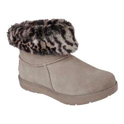 Women's Skechers Adorbs Polar Fur Boot Dark Taupe
