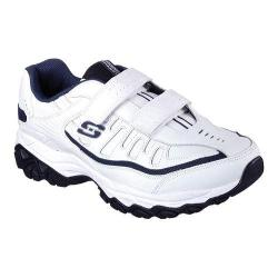 Men's Skechers After Burn Memory Fit Final Cut Walking Shoe White/Navy