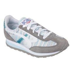 Women's Skechers BOBS Melrose Glam Squad Sneaker Gray/Blue