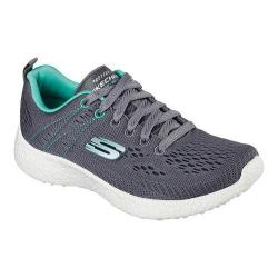 Women's Skechers Energy Burst Adrenaline Training Sneaker Charcoal/Aqua