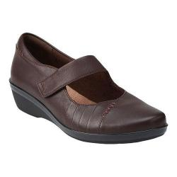 Women's Clarks Everlay Daphne Mary Jane Brown Leather