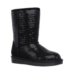 Girls' Skechers Glamslam Shine Time Boot Black