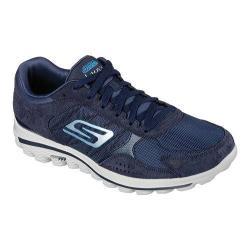 Men's Skechers GOwalk 2 Golf Lynx Ballistic Lace Up Shoe Navy/Gray