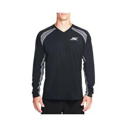 Men's Skechers High Velocity Union Tech Long Sleeve Tee Shirt Black