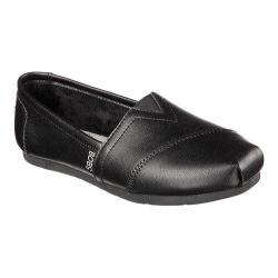 Women's Skechers Luxe BOBS About Town Alpargata Black