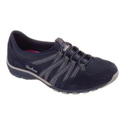 Women's Skechers Relaxed Fit Conversations Bungee Sneaker Holding Aces/Navy/Gray