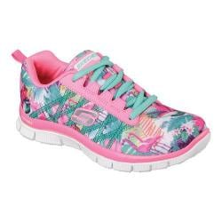 Girls' Skechers Skech Appeal Floral Bloom Sneaker Pink/Multi