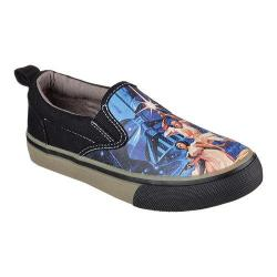 Children's Skechers Star Wars Tossers Keplar Slip On Black/Royal