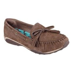 Women's Skechers Tuscany Piazza Tassel Loafer Chocolate