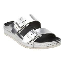 Women's Clarks Netrix Rose Silver Metallic