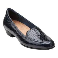 Women's Clarks Timeless Navy Patent
