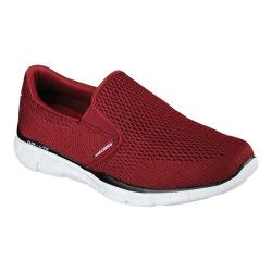 Men's Skechers Equalizer Double Play Slip On Burgundy