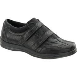 Women's Apex Carla Dual Strap Shoe Black Full Grain Leather