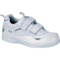 Women's Apex Double Strap Active Walker White Leather