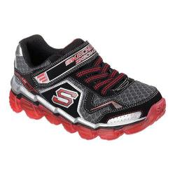 Boys' Skechers Skech-Air Turbo Track Sneaker Black/Red