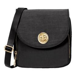 Women's baggallini KEN869 Gold Kensington Mini Crossbody Black