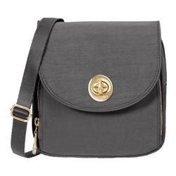 Women's baggallini KEN869 Gold Kensington Mini Crossbody Charcoal