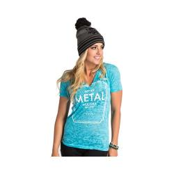 Women's Metal Mulisha Love Potion 99 Tee Teal