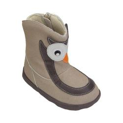 Children's Zooligans Ollie the Owl Big Kid Boot Snow White/Major Brown
