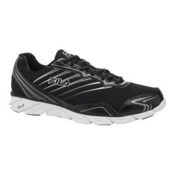 Men's Fila T-Minus Black/White/Metallic Silver