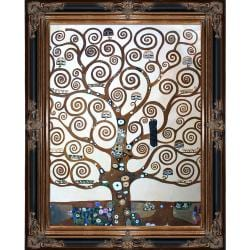 Tree of Life by Gustav Klimt Framed Hand Painted Oil on Canvas