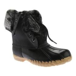 Women's Sporto Daphne Faux-Fur Boot Black