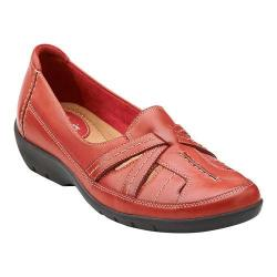 Women's Clarks Ordell Ava Red Leather