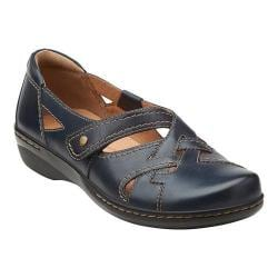 Women's Clarks Evianna Peal Navy Leather