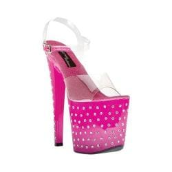 Women's Highest Heel Starlite-11 Fuchsia Bottom