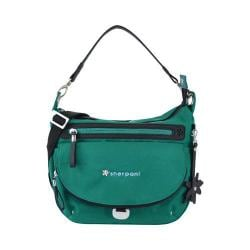 Women's Sherpani Vibe Medium Cross Body Bag Emerald