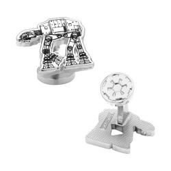 Men's Cufflinks Inc AT-AT Walker Cufflinks White 16598870