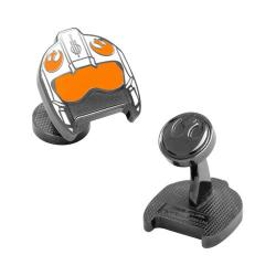 Men's Cufflinks Inc Fighter Pilot Helmet Cufflinks Multicolored