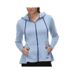 Women's Fila Bella Jacket Lavender Blue Heather/Dazzling Blue