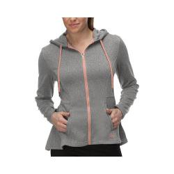 Women's Fila Bella Jacket Varsity Heather/Peach Poise