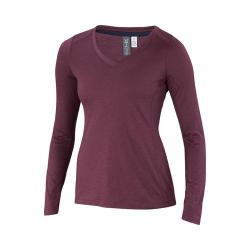 Women's Ibex All Day Long Sleeve T-Shirt Fire Brick