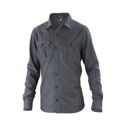 Men's Ibex Beacon Shirt Charcoal Heather