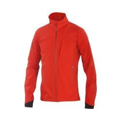 Men's Ibex Climawool Chute Jacket Blood Orange