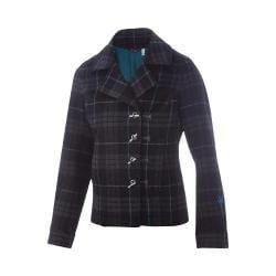 Women's Ibex District Duffle Jacket Putney Plaid