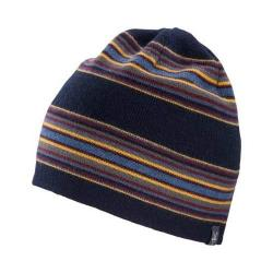 Men's Ibex Double Stripe Knit Beanie Midnight Stripe