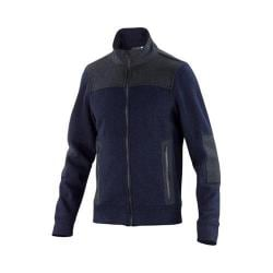 Men's Ibex Hunters Point Full Zip Jacket Midnight Heather