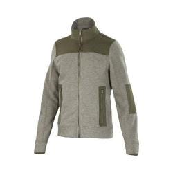 Men's Ibex Hunters Point Full Zip Jacket Rye Heather