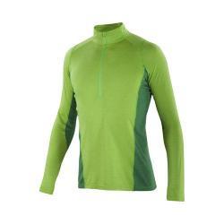 Men's Ibex Indie Half Zip T-Shirt Green Flash